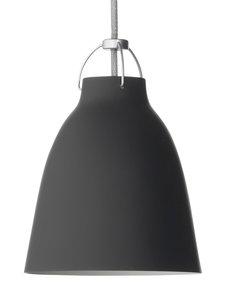 Fritz Hansen - Caravaggio P1 -riippuvalaisin 16,5 cm - MATTAMUSTA | Stockmann