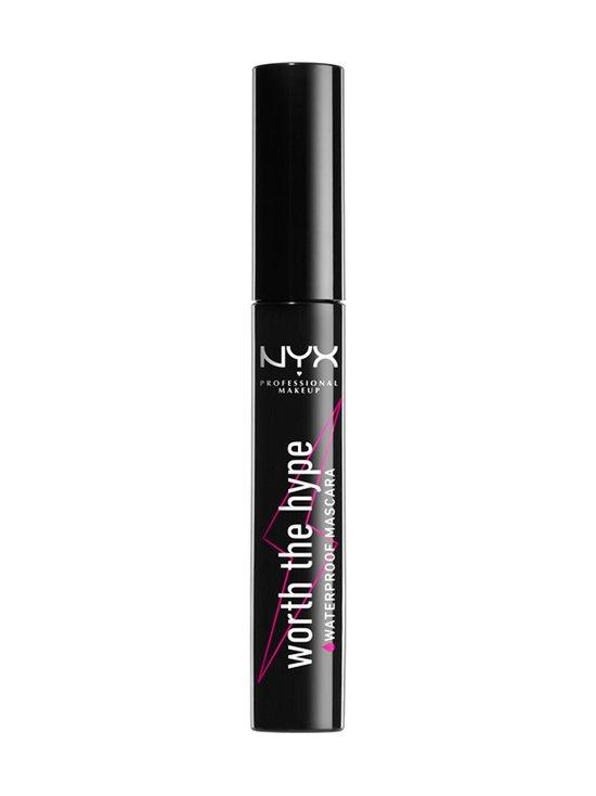 NYX Professional Makeup - Worth The Hype Waterproof Mascara -vedenkestävä ripsiväri - 01 BLACK | Stockmann - photo 1