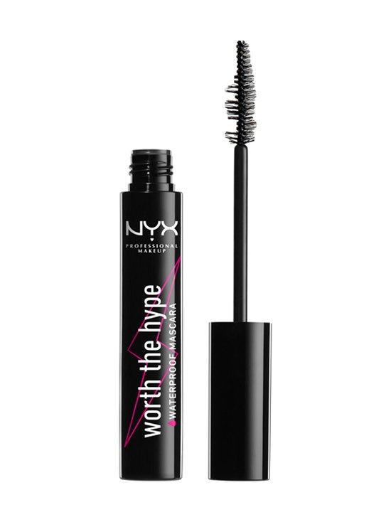 NYX Professional Makeup - Worth The Hype Waterproof Mascara -vedenkestävä ripsiväri - 01 BLACK | Stockmann - photo 2