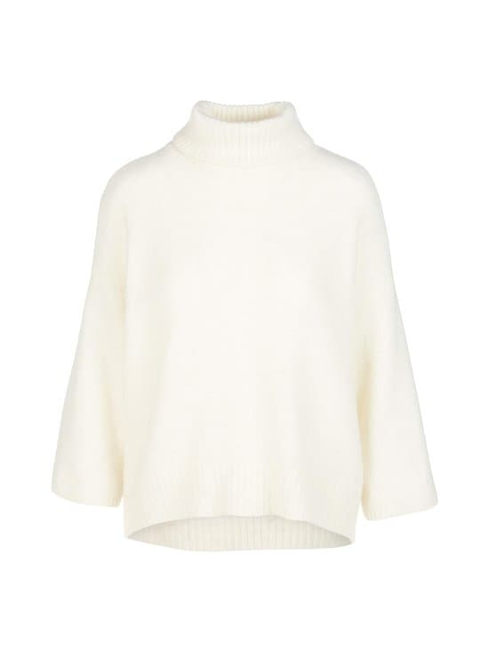 Vila - ViFunkla Roll-Neck 7/8 Sleeve -neule - WHISPER WHITE | Stockmann - photo 1