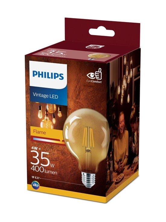 Philips - Vintage LED Classic 35W E27 Warm White -lamppu - WHITE | Stockmann - photo 1