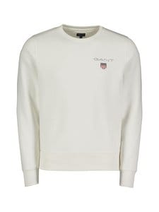 GANT - Medium Shield Crew -collegepaita - EGGSHELL | Stockmann