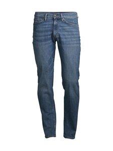 GANT - Slim Straight -farkut - 971 MIDDLE BLUE   Stockmann