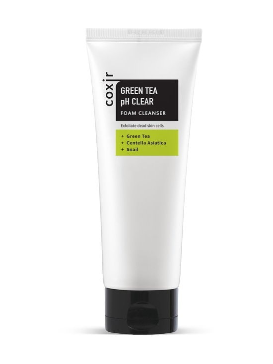 Coxir - Green Tea pH Clear Cleanser -puhdistusvaahto 150 ml - NOCOL | Stockmann - photo 1