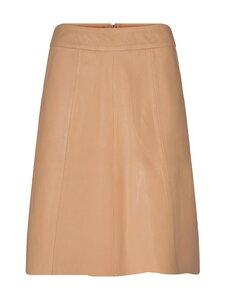 MOS MOSH - Adalyn Leather Skirt -nahkahame - NEW SAND   Stockmann