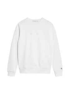 Calvin Klein Kids - Metallic Chest Logo -collegepaita - YAF BRIGHT WHITE | Stockmann