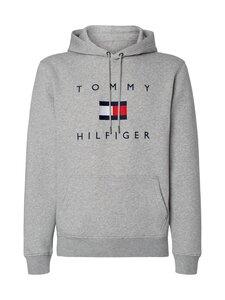 Tommy Hilfiger - Tommy Flag Hilfiger -huppari - PG5 MEDIUM GREY HEATHER | Stockmann