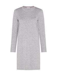 Tommy Hilfiger - Soft Cotton Dress -mekko - PKH LIGHT GREY HEATHER | Stockmann