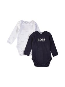Hugo Boss Kidswear - Body 2-pack - V41 NAVY WHITE | Stockmann