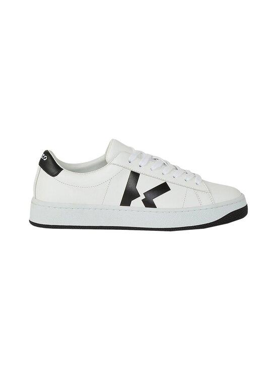 Kenzo - Kourt K Logo -nahkasneakerit - 01 - SPORT NAPPA - WHITE   Stockmann - photo 1