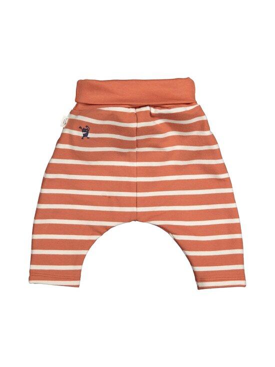 Sanetta Pure - Unisex Trousers Stripe -housut - 38119 TERRA   Stockmann - photo 2