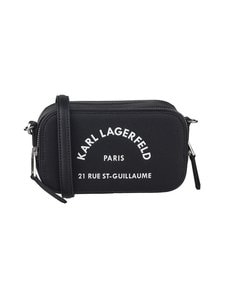 Karl Lagerfeld - Rue St Guillaume Camera Bag -nahkalaukku - BLACK A999   Stockmann