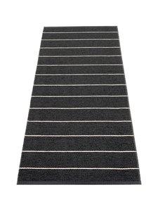 Pappelina - Carl-muovimatto 70 x 180 cm - BLACK/CHARCOAL | Stockmann