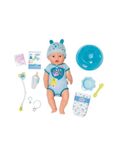 Baby Born interaktiivinen nukke, pehmeä poika 38 cm