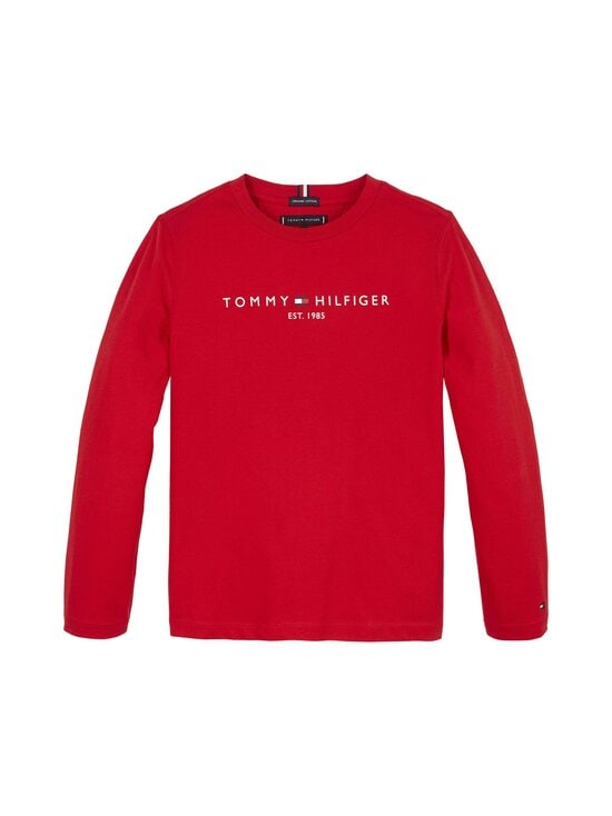Tommy Hilfiger - Essential Tee -paita - XNL DEEP CRIMSON | Stockmann - photo 1