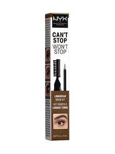 NYX Professional Makeup - Can't Stop Won't Stop Longwear Brow Ink Kit -kulmavärisetti 8 ml - null | Stockmann