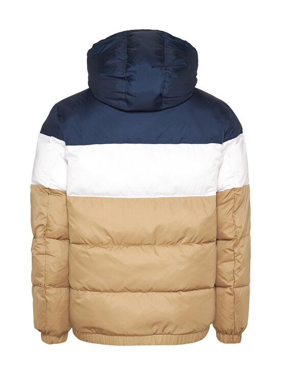 Tommy Jeans - Colour-Blocked Hooded Puffer -toppatakki - RBL CLASSIC KHAKI   Stockmann - photo 2