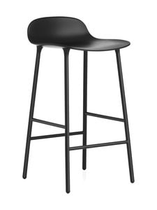 Normann Copenhagen - Form-baarituoli - STEEL BLACK | Stockmann