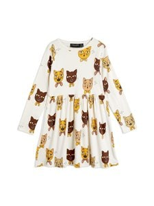 Mini Rodini - Cat Choir -mekko - OFFWHITE | Stockmann