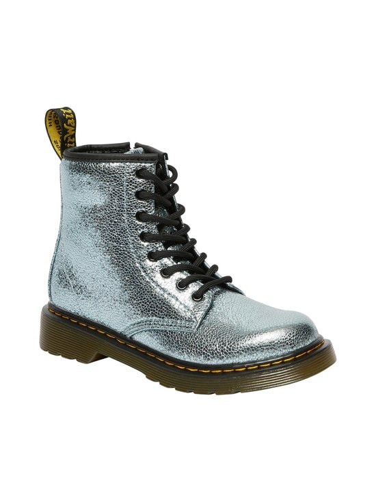 1460 J Teal Crinkle Metallic Boot -kengät