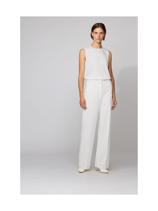 BOSS - Iesana-silkkipusero - 112 OPEN WHITE | Stockmann - photo 4