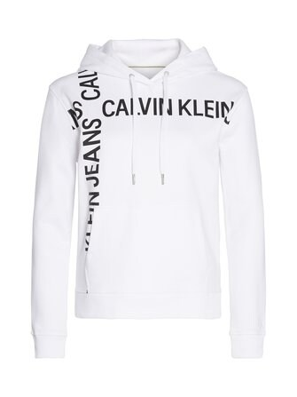 Grid Logo Boxy -huppari - Calvin Klein Jeans