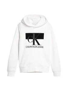 Calvin Klein Kids - Monogram Block Hoodie -huppari - YAF BRIGHT WHITE | Stockmann