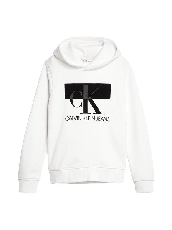 Calvin Klein Kids - Monogram Block Hoodie -huppari - YAF BRIGHT WHITE | Stockmann - photo 1