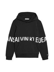 Calvin Klein Kids - Stretch Logo Hoodie -huppari - BEH CK BLACK | Stockmann