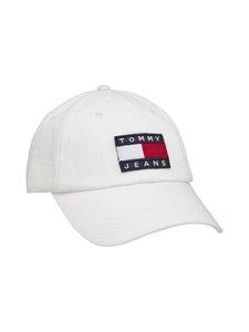 Tommy Hilfiger - Tjm Heritage Cap -lippalakki - YBR WHITE | Stockmann