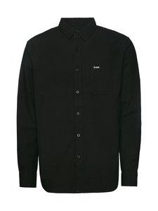 BILLEBEINO - BILLEBEINO x PURE WASTE Collar Shirt -kauluspaita - 99 BLACK | Stockmann