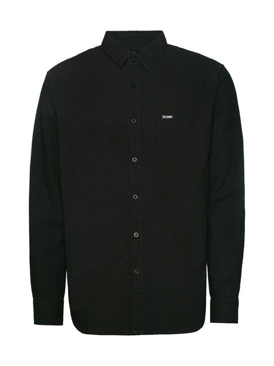 BILLEBEINO - BILLEBEINO x PURE WASTE Collar Shirt -kauluspaita - 99 BLACK | Stockmann - photo 1