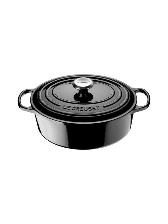 Le Creuset - Signature-pata, ovaali 4,1 l - MUSTA | Stockmann - photo 1