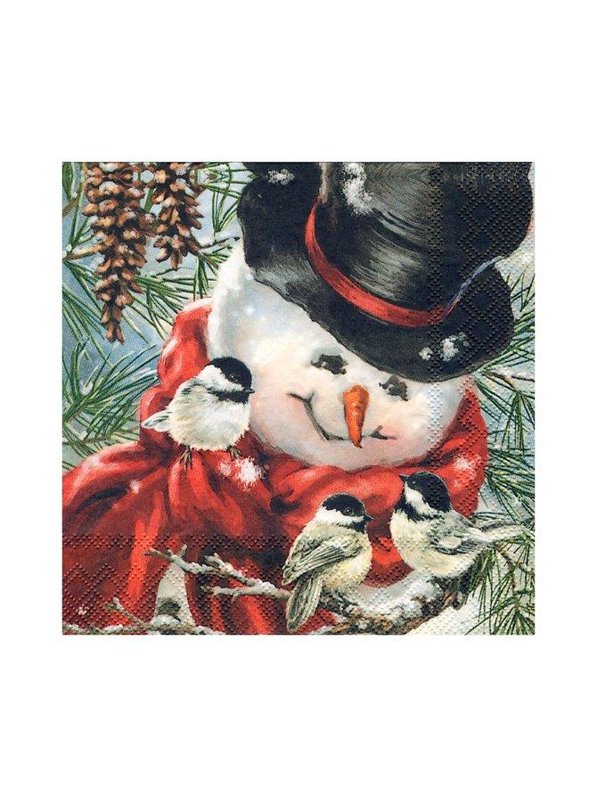 Freddy, the Snowman -servetti 33 x 33 cm