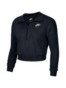 Nike - Sportswear Essential -collegepaita - 010 BLACK/WHITE | Stockmann