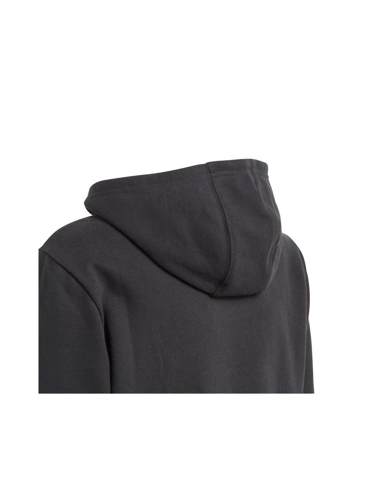 Musta Adidas Originals Trefoil-huppari CD6499  98ff1882ae
