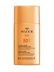 Nuxe - Light Fluid High Protection SPF 50 -aurinkosuojaemulsio kasvoille 50 ml - null | Stockmann