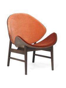 Warm Nordic - The Orange -tuoli - RUSTY ROSE VELVET, BRICK RED VELVET | Stockmann