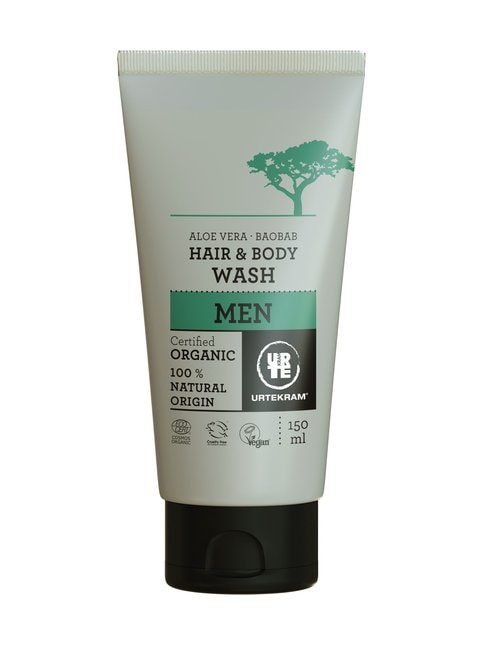 Men Aloe Vera Baobab Hair & Body Wash -hius- ja vartaloshampoo 150 ml