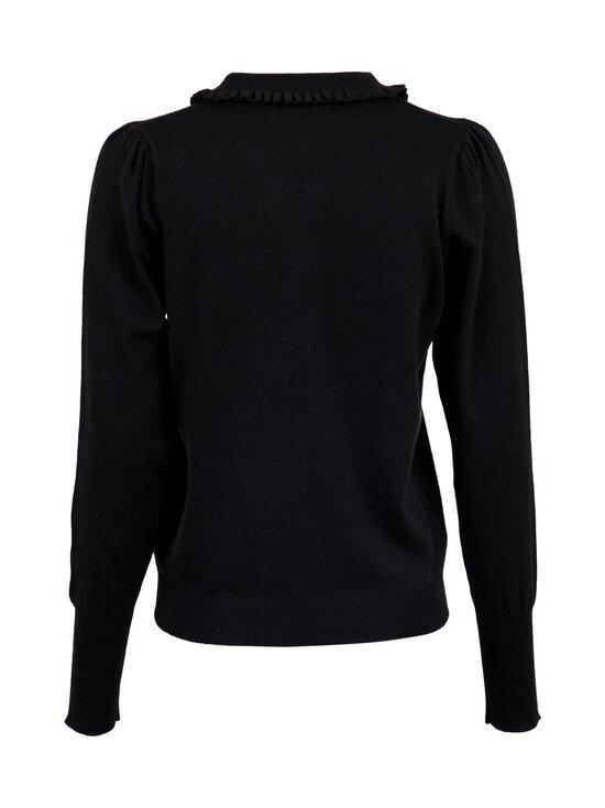 Neo Noir - Gemma Diamond Knit Blouse -neule - 100 BLACK | Stockmann - photo 2