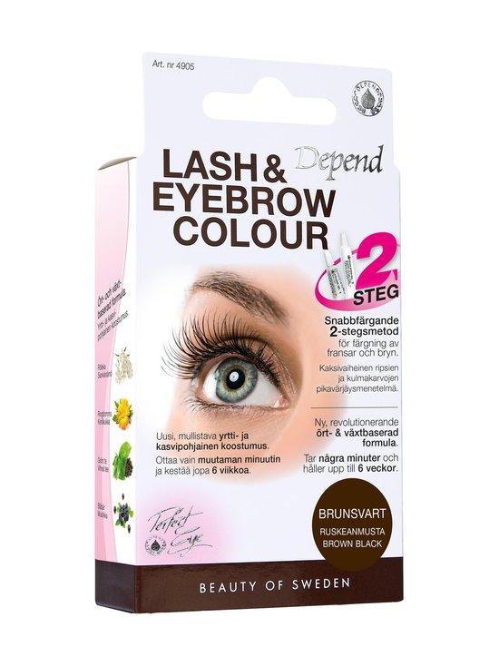 Depend - Lash and Eyebrow Colour -ripsi- ja kulmaväri - BROWN BLACK | Stockmann - photo 1