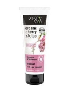 Organic Shop - Cherry and Lotus Hand & Nail Cream-Balm -käsivoide 75 ml - null | Stockmann