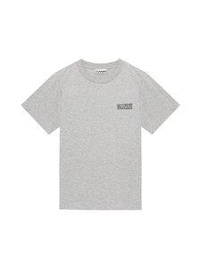 Ganni - Thin Software Jersey T-Shirt -paita - PALOMA MELANGE 921 | Stockmann