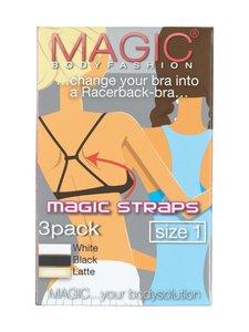 Magic - Magic Straps -olkainyhdistäjä 3 kpl - BLACK/WHITE/BEIGE | Stockmann