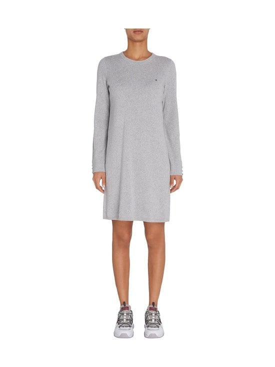 Tommy Hilfiger - Soft Cotton Dress -mekko - PKH LIGHT GREY HEATHER | Stockmann - photo 3