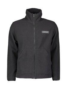 Napapijri - T-Patch Full Zip Fleece -paita - BLACK | Stockmann