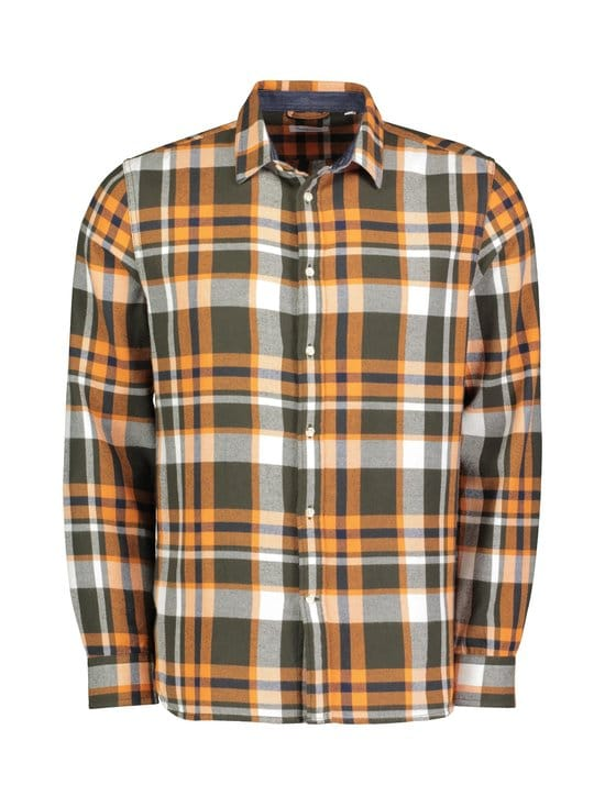 Knowledge Cotton Apparel - Larch LS Casual Fit -flanellipaita - 1090 FORREST NIGHT | Stockmann - photo 1