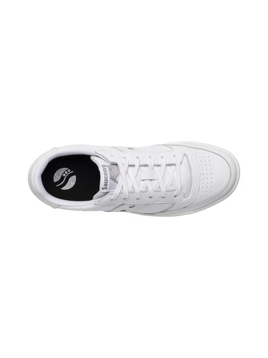 Saucony - Jazz Court -nahkatennarit - WHITE/WHITE | Stockmann - photo 3