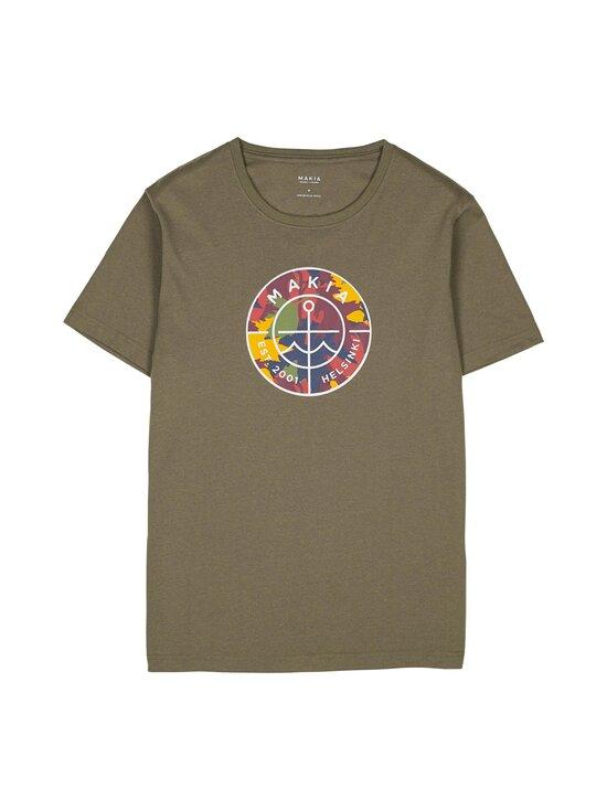 Makia - Re-Scope T-Shirt -paita - 736 GREEN | Stockmann - photo 1