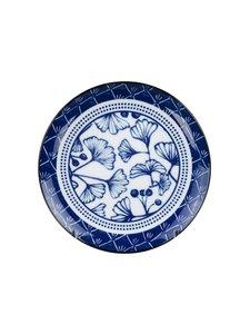 Tokyo Design Studio - Gingko-lautanen 20,6 cm - BLUE/WHITE | Stockmann
